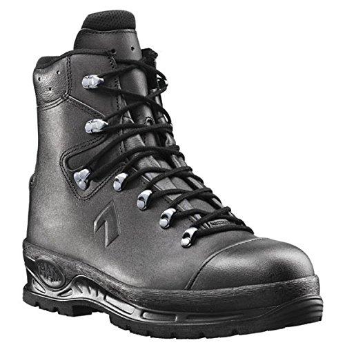 Haix Sicherheitsschuhe Arbeitsschuhe S3 Trekker Pro, Farbe:Schwarz;Schuhgröße:45 (UK 10.5)