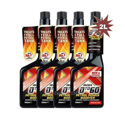 Redex RDX19-4 Petrol 0 to 60 Octane Booster 500ml - 4x500ml = 2 Litre