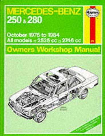 Mercedes-Benz 280 Automotive Repair Manual (1977 - 1984)