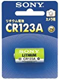 ソニー SONY リチウム電池 CR123A カメラ用 CR123A-BB
