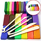 Craft Decor Polymer Clay 32 Color Bar Oven Bake Modelling Clay Craft & Tools Kit for Kids