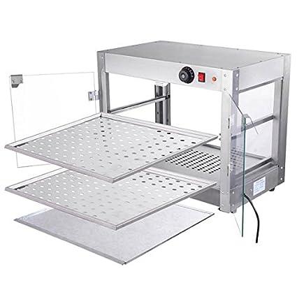 Amazon.com: Chimaera Comercial Countertop 2-tier calentador ...