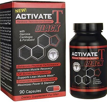 Amazon com: HCG Activate T Black Hardcore Testosterone Booster