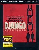 Django Unchained (Three-Disc Steelbook Blu-ray/DVD Combo + Digital Copy + UltraViolet)