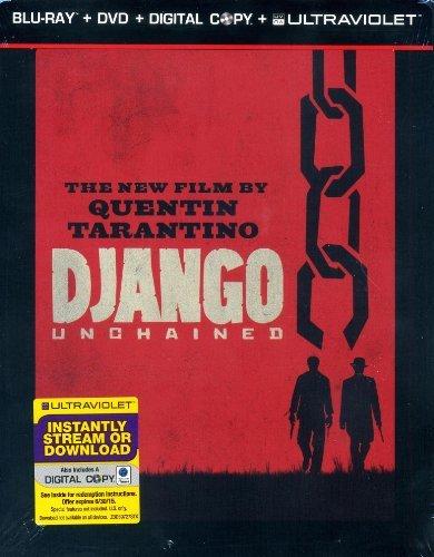 Django Unchained (Three-Disc Steelbook Blu-ray/DVD Combo + Digital Copy + UltraViolet) -  IDT CORPORATION, 0001313259727