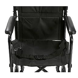 Drive Medical Aluminum Transport Chair, 19\