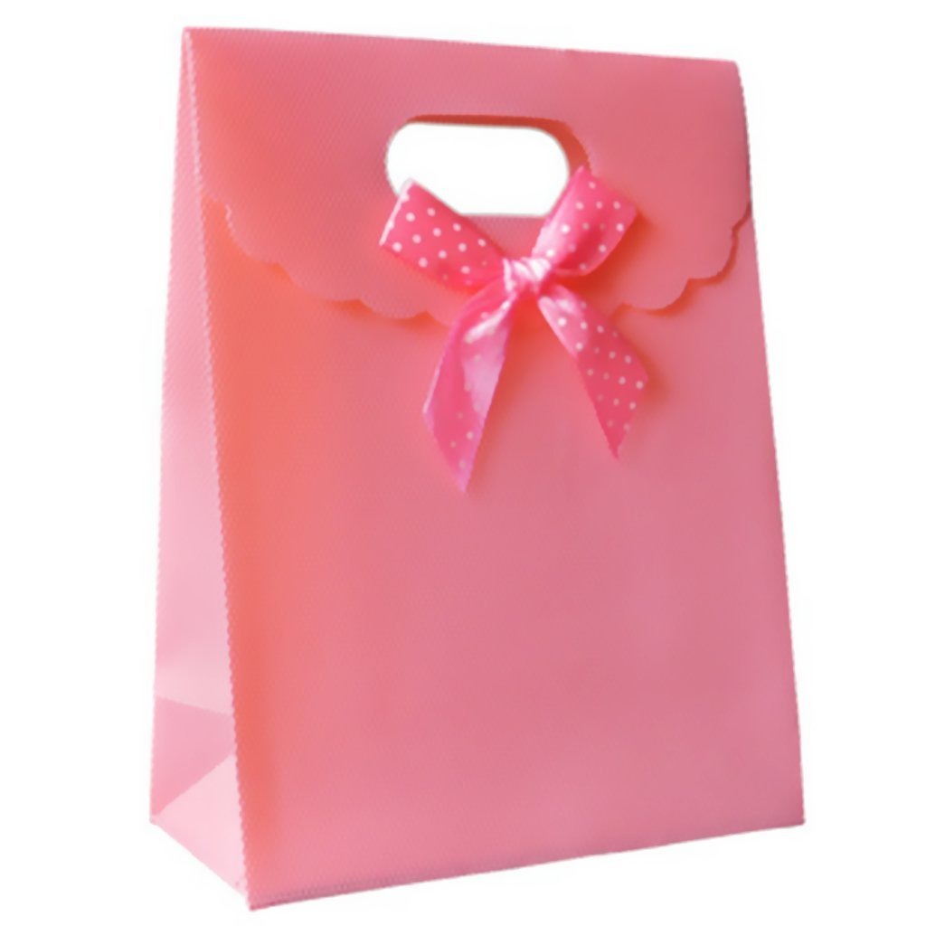 Amazon.com: Home Mart Paper Bags Party Gift Bag Portable Paper Bag ...
