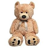 5 foot bear - Huge Teddy Bear - Tan