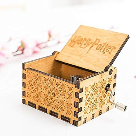 Surenhap Caja de música de Madera Premier de Harry Potter Caja Personalizada de Magic Personalizada Regalos para los fanáticos Niños: Amazon.es: Hogar