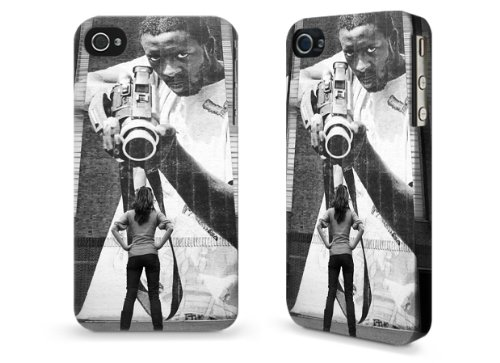 """Hülle / Case / Cover für iPhone 4 und 4s - """"I fear nothing"""" by Ronya Galka"""