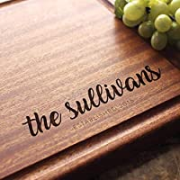 Personalized Cutting Board, Custom Keepsake, Engraved Serving Cheese Plate, Wedding, Anniversary, Engagement, Housewarming, Birthday, Corporate, Closing Gift #940