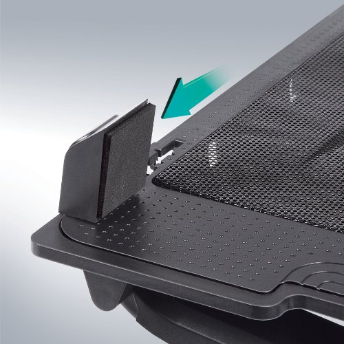 Merkury Innovations Laptop Cooling Stand Metal Mesh Surface with Silent Fan (M-CP310) by Merkury Innovations (Image #3)