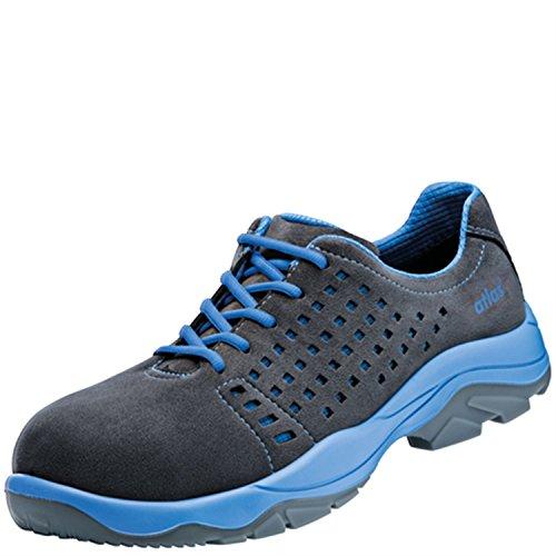 42 nbsp;large de basses Chaussures ISO nbsp;S1 dans blue 20345 SL Atlas sécurité ESD nbsp;SRC 10 en nbsp;après Noir de EqYnx0x