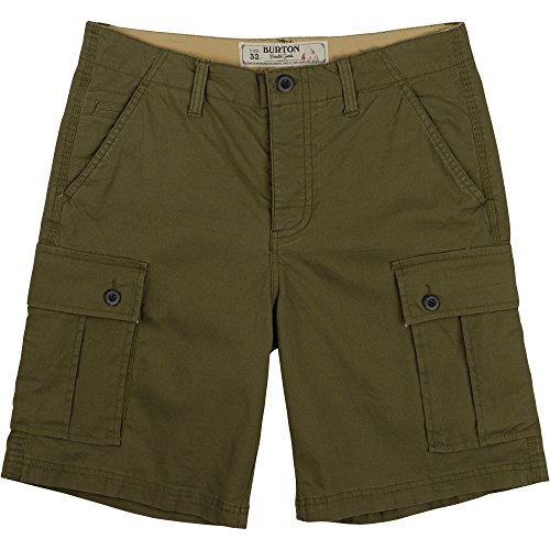 Burton Shorts Cargo - Burton Men's Cargo Shorts, Size 30, Olive Night