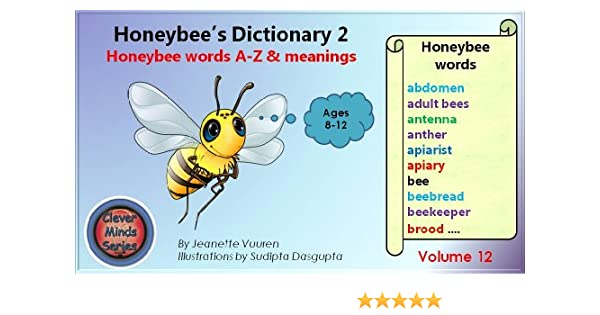 Children's books: Honeybee's Dictionary 2 Volume 12, Honey bee ...