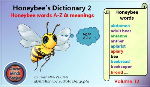Children\'s books: Honeybee\'s Dictionary 2 Volume 12, Honey bee ...