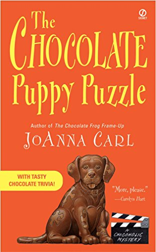 book cover of The Chocolate Puppy Puzzle