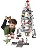 Hape - Discovery Spaceship and Lift-Off Rocket by Educo