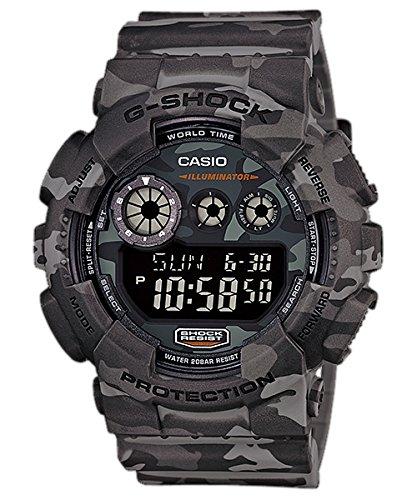 G-Shock GD-120CM Designer Watch - Grey Camo / One Size