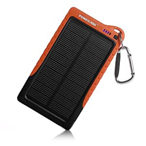 Amazon Com Poweradd Apollo 7200mah Solar Panel Charger