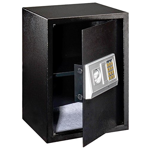 NEW Black Large Digital Electronic Safe Box Keypad Lock Security Home Office Hotel Gun