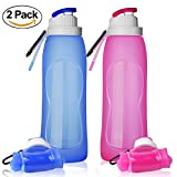 Collapsible Water Bottles, TurnRaise Foldable Silicone Bottle FDA-approved - Best Reviews Guide