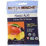 Matt's Munchies Mango Acai Premium Fruit Snack 1 Ounce Packs (12 Pack) by Matts Munchies