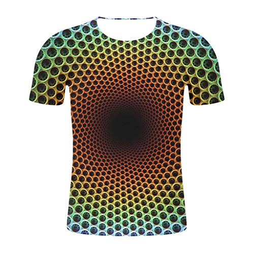 Price comparison product image VICCKI 2019 Newest Summer Style Fashion Print Short Sleeved Tees Men Multicolor T Shirt Green