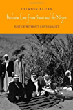 Bedouin Law from Sinai and the Negev: Justice without Government