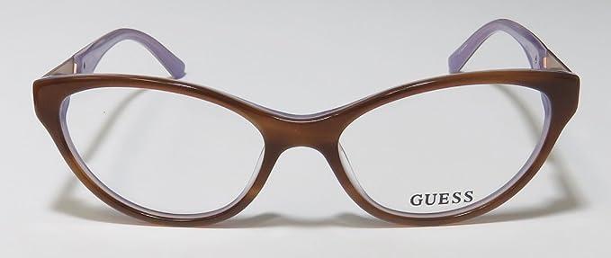 Amazon.com: Guess 2351 Womens/Ladies Cat Eye Full-Rim ...