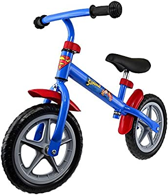 Safetots Batman Vs Superman Bicicleta sin pedales (Superman ...