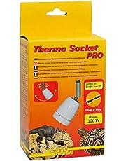 Lucky Reptile HTSP-5 Thermo Socket Pro, oprawa porcelanowa z przegubem, zamontowana lampa terrarialna