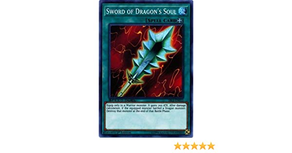 SBLS-EN015 Super Rare 1st Edition Sword of Dragon/'s Soul