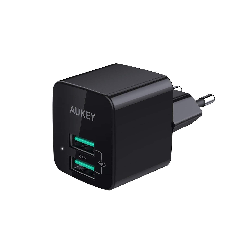 AUKEY Caricabatterie USB da Muro Ultra Compatto