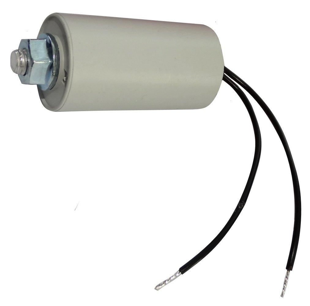 AERZETIX: Condensador permanente para trabajo del motor 5µ F 450V precableado Ø 30x53mm ± 10% 10000h C18757 C18757-AL746