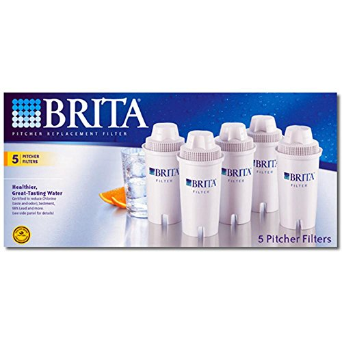Brita Unstintingly Filter Pitcher Advanced Replacement Filters 5 ea