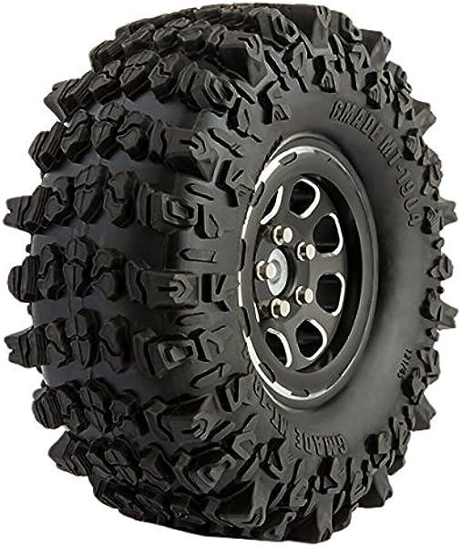 "4pcs 1//10 RC 1.9/"" Rock Crawler Trail Truck Tires 121mm Fit 1.9in Beadlock Rims"
