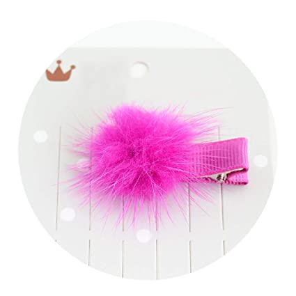 ecmqs – Pinza para el pelo – 1 pc niños/niñas color caramelo sucré Tejido