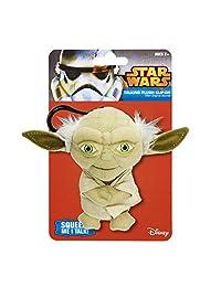 Underground Toys 00248J Star Wars Talking Yoda Key Chain, 4-Inch