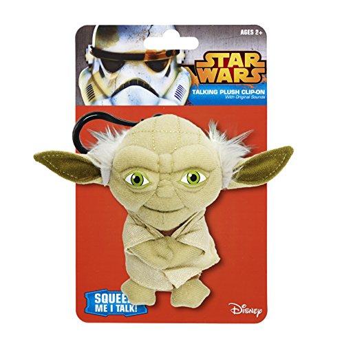 "Underground Toys Star Wars Talking Yoda 4"" Plush"