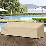 SunPatio Outdoor Bench Cover 80 Inch, Heavy Duty