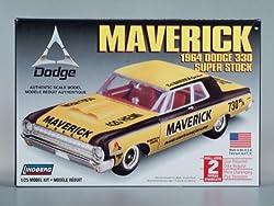 Lindberg Models 1964 Dodge Maverick 330 Super Stock by J. Lloyd International