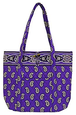 "Vera Bradley ""VERA BAG"" Bag in Simply Violet"