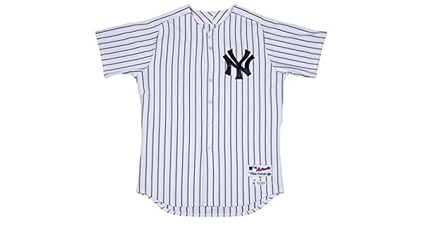 ea3d775c2 Chris Carter New York Yankees 2017 Spring Training Opening Day Game Used  48  Pinstripe Jersey (JC002659)(50) at Amazon s Sports Collectibles Store