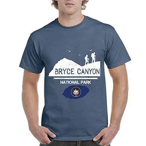 Bryce Canyon National Park Hoodoos Utah Men Shirts T-Shirt Tee ()