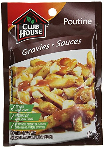 Club House Poutine Gravy Mix 42g (3 Pack) (Best Gravy For Poutine)