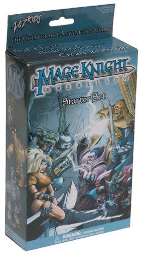 Mage Knight Rebellion Starter Set 10 Figures