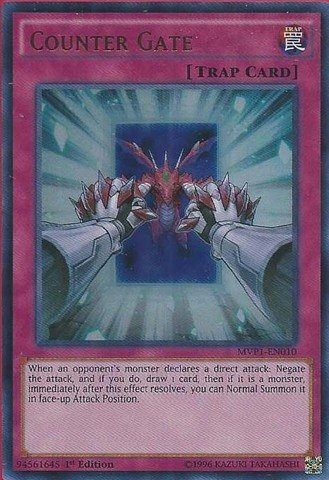 Yu-Gi-Oh! - Counter Gate (MVP1-EN010) - The Dark Side of Dimensions Movie Pack - 1st Edition - Ultra Rare