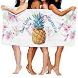 Hgjoafnkln Our Little Pineapple Wrap Bath Shower Towel For Pools,gyms,beaches