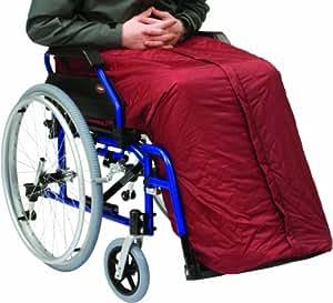 Drive medical rt 7434 funda impermeable para silla de ruedas tama o grande color marr n - Tamano silla de ruedas ...